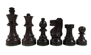 Standard Staunton Rosewood Chess Set - Weighted - 3 3/4 in.King