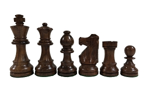 Standard Staunton Sheesham Wood Chess Set - 3 3/4 in.King - Weighted
