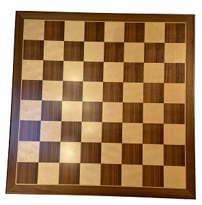 Wood Chess Board - Babul & Maple 2 1/8