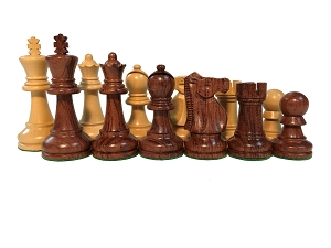 Anjanwood Ultimate   Chess Set - 4X Weight - 4 Queens