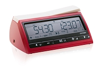 DGT 3000 Digital Chess Clock - Red