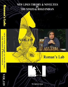 Roman's Lab 119  Chess DVD - The Nimzo  against the Queens Gambit