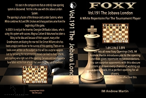 Foxy Chess 191  Jobava London for The Tournament Player