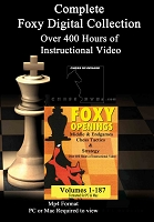 Foxy Chess Openings 1-187 ( 9 Digital DVDs in sleeves)