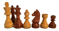 European Chess Set -Babul Wood 3.75