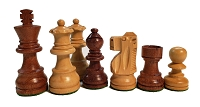 Standard Staunton Babul Wood Analysis Chess Set - 4 Queens - 3