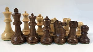 "Acacia Ultimate Staunton Chess Pieces – 3.7"" King - Heavily Weighted Chess Set"