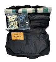 BACKPACK BAG CHESS COMBO: Bag/Board/Chess Pieces/Scorebook