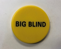 Texas hold'em Big Blind Poker Button