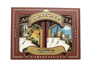 Castle Bridge Playing Cards - Ace 100% Plastic - Regular Index