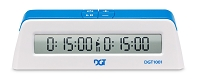 DGT 1001 Digital Chess Clock - White