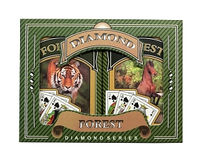 Forest Bridge Playing Cards - Ace 100% Plastic - French Index