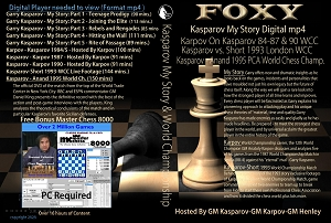 Kasparov My Story Collection (10 Digital DVDs) Download or Disk