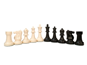 Bobby Fischer New White Ultimate Triple Weight Chess Pieces