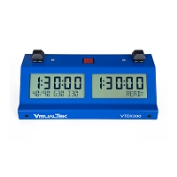 Blue V-TEK-300 Digital Chess Clock