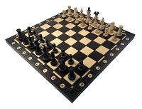Consul Black Chess Set   -  19