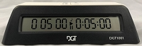 DGT 1001 Digital Chess Clock - Black