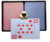 COPAG Alo Brasil Plastic Playing Cards - Super Index - Poker