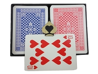 COPAG Plastic Pinochle/Euchre Cards - Poker Width Double Deck
