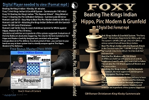 Beating The King's Indian, Hippo, Pirc Modern & Grunfeld (7 Digital DVDs) Download or Disk