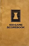 Gold Dust Velour Chess Hardcover Scorebook
