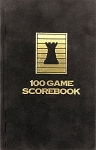 Onyx Velour Chess Hardcover Scorebook