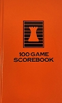 Orange Chess Hardcover Scorebook