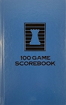 Royal Blue Chess Hardcover Scorebook