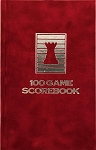 Ruby Velour Chess Hardcover Scorebook