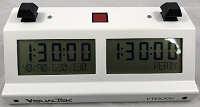 Visual Tek V-TEK-300 Digital Chess Clock - White