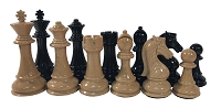 Staunton Chess Set - Quadruple Weighted Woodtek Chess Pieces