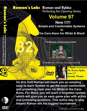 Roman's Chess Download 97: Systems in The Caro-Kann for White & Black