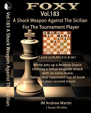 Foxy DVD 183 A Shock Against The Sicilian - Tournament player