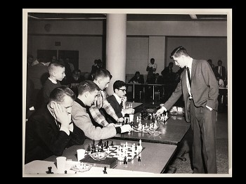 Bobby Fischer in Simul