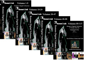 Roman's Lab Complete Digital Catalog  1 - 117 on 5 Digital DVDs