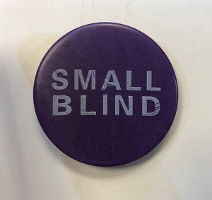 Texas hold'em Small Blind Button