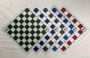 Bobby Fischer Floppy Mousepad Chess Board