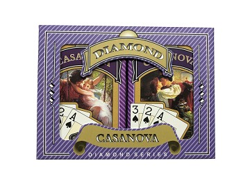 Casanova Bridge Playing Cards - Ace 100% Plastic - Super Index