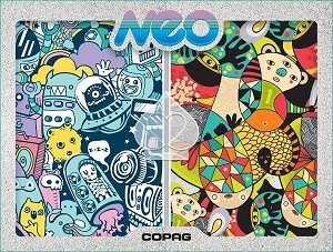 Copag NONSENSE- Neo Series Bridge Size Jumbo Index Playing Cards