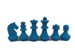 Chess Erasers -  6 Pieces