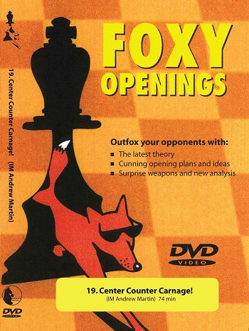 Foxy Chess #19: Center Counter Carnage! - Chess DVD