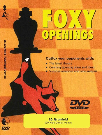 Foxy Volume 26: Grunfeld  -  Chess DVD