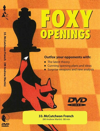Foxy Volume 33: McCutcheon French Chess DVD
