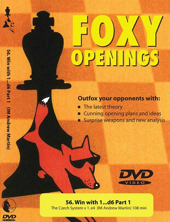 Foxy Chess 56: Win with 1...d6 Part 1  Chess DVD