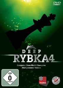 Deep Rybka 4 (PC-DVD) - Multiprocessor Version Chess Software Engine