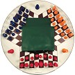 3 Way Chess Set, Pieces , Board , Bag