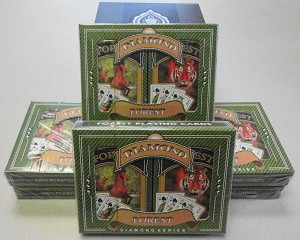 12 Sets (24 decks) - Ace 100% Plastic - Forest Bridge - French Index