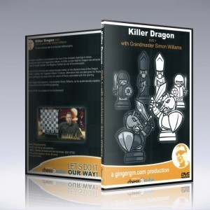 KILLER DRAGON 1 & 2 Chess DVD w/ GM Simon Williams - 12 Hours