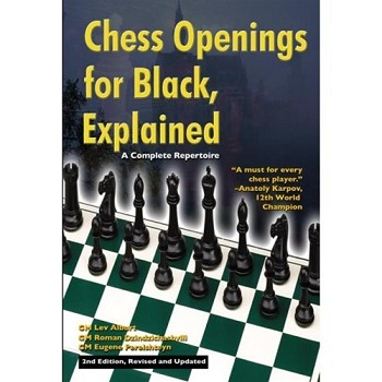 Chess Openings for Black, Explained   2nd Edition - Lev Alburt