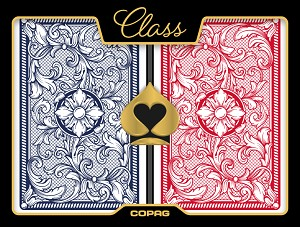 Copag Legacy Plastic Playing Cards - Red / Blue - Bridge - Super Index